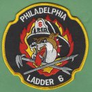Philadelphia Fire Department Ladder Company 6 Patch