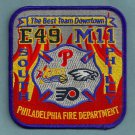 Philadelphia Fire Department Engine 49 Medic 11 Company Patch