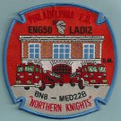 Philadelphia Fire Department Engine 50 Ladder 12 Company Patch