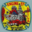 Philadelphia Fire Department Engine Company 57 Patch