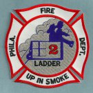 Philadelphia Fire Department Ladder Company 2 Patch