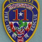 Houston Fire Department Station 11 Company Patch