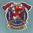 Houston Fire Department Station 18 Company Patch
