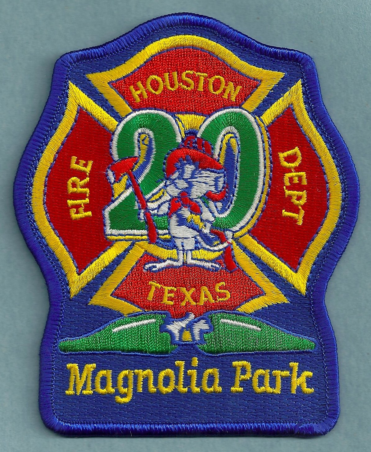 Houston Fire Department Station 20 Company Patch