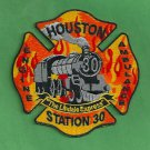 Houston Fire Department Station 30 Company Patch