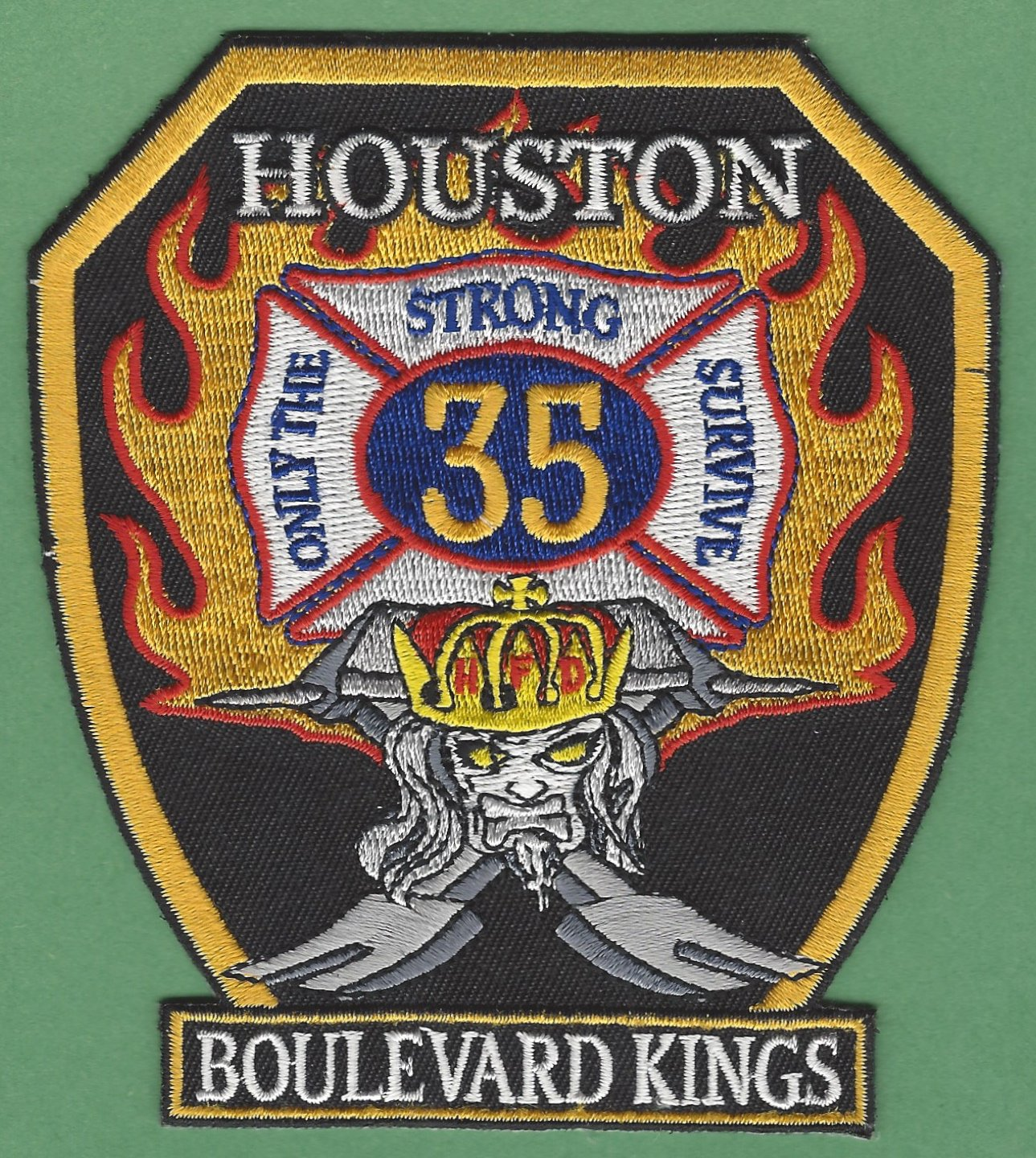 Houston Fire Department Station 35 pany Patch
