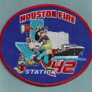 Houston Fire Department Station 42 Company Patch