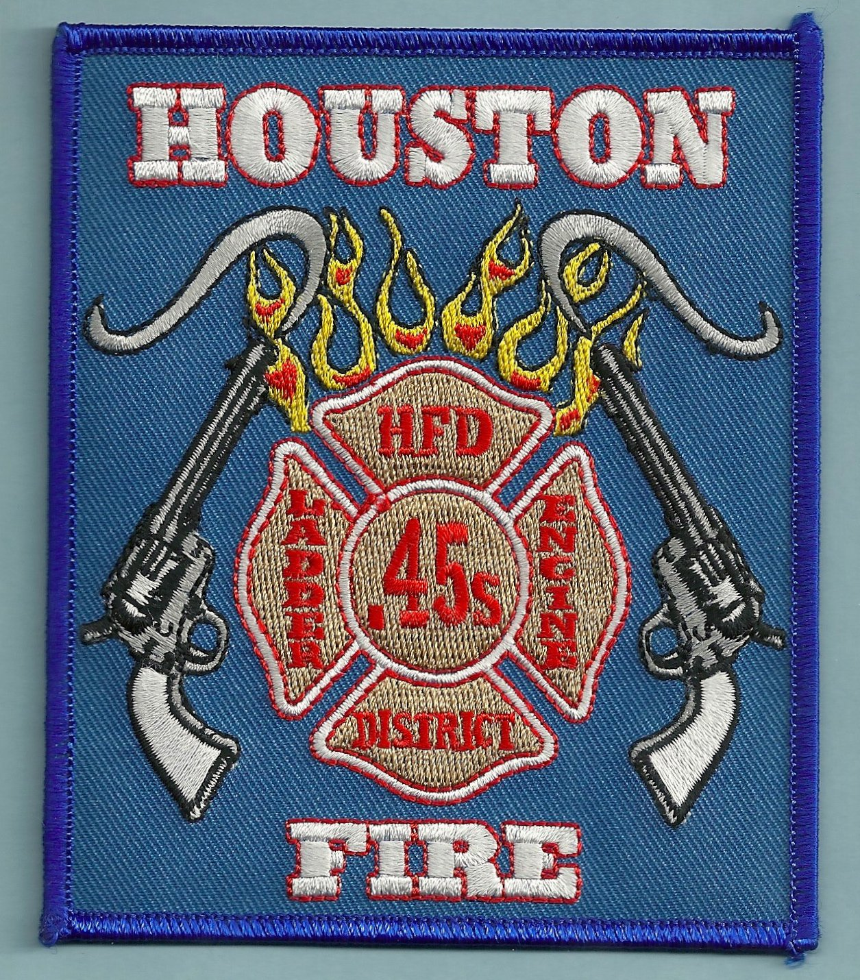 Houston Fire Department Station 45 pany Patch