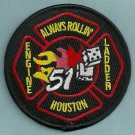 Houston Fire Department Station 51 Company Patch