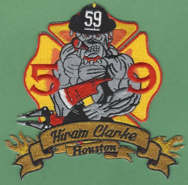 Houston Fire Department Station 59 Company Patch