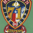 Houston Fire Department Station 71 Company Patch