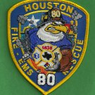 Houston Fire Department Station 80 Company Patch