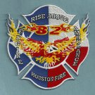 Houston Fire Department Engine Company 82 Patch