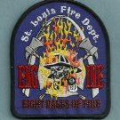 St. Louis Fire Department Engine Company 8 Patch