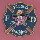 St. Louis Fire Department Engine Company 24 Patch
