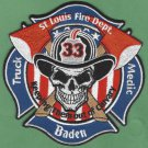 St. Louis Fire Department Truck Company 33 Patch