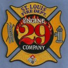 St. Louis Fire Department Engine Company 29 Patch