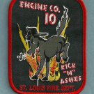 St. Louis Fire Department Engine Company 10 Patch