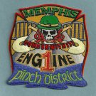 Memphis Fire Department Engine Company 1 Patch