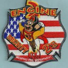Memphis Fire Department Engine Company 2 Patch