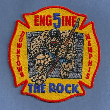 Memphis Fire Department Engine Company 5 Patch