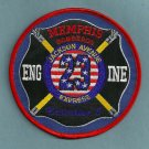 Memphis Fire Department Engine Company 23 Patch