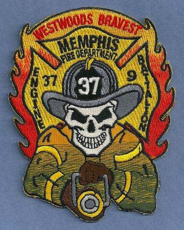 Memphis Fire Department Engine Company 37 Patch