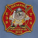Memphis Fire Department Engine 39 Truck 18 Company Patch