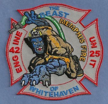 Memphis Fire Department Engine Company 42 Patch