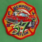 Memphis Fire Department Engine 57 Truck 21 Company Patch