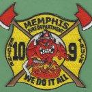Memphis Fire Department Engine 10 Truck 9 Company Patch