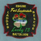 Fort Lauderdale Fire Department Engine Company 13 Patch
