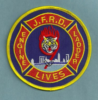 Jacksonville Fire Department Station 9 Company Patch