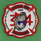 Jacksonville Fire Department Station 34 Company Patch