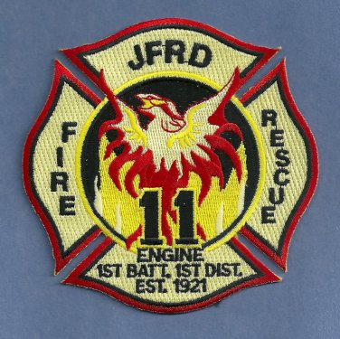 Jacksonville Fire Department Engine Company 11 Patch