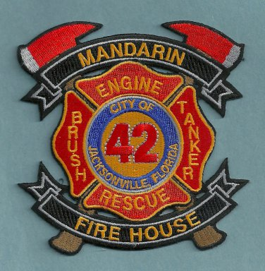 Jacksonville Fire Department Station 42 Company Patch
