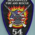 Jacksonville Fire Department Station 54 Company Patch
