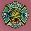 Jacksonville Fire Department Station 59 Company Patch