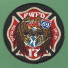 Fort Wayne Fire Department Engine Company 17 Patch