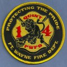 Fort Wayne Fire Department Quint Company 14 Patch