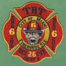 Miami Fire Department Station 6 Company Patch