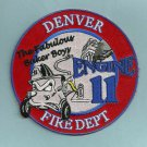 Denver Fire Department Engine Company 11 Patch