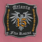 Atlanta Fire Department Station 15 Company Patch
