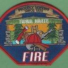 Twain Hart California Fire Patch