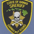 State of Hawaii Sheriff Police Patch