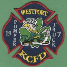 Kansas City Fire Department Pumper 19 Truck 7 Fire Patch