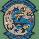 CVN-72 USS ABRAHAM LINCOLN 1998 OPERATION SOUTHERN WATCH PATCH