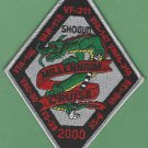 VF-211 MILLENNIUM CRUISE 2000 PATCH