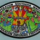 CVN-65 USS ENTERPRISE 2001 OPERATION SOUTHERN WATCH CRUISE PATCH