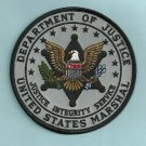 United States Marshal-Department of Justice Police Patch